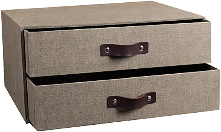 QSJY File Cabinets Caja de Almacenamiento Caja de Almacenamiento Caja de Escritorio Tipo Carpeta de Madera A4 Estante de Estilo Europeo Creativa Acabado pequeño (Color : 1): Amazon.es: Hogar