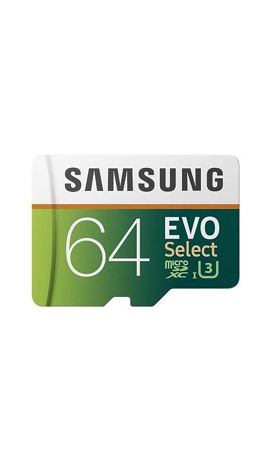 Samsung 64 GB 80 MB/s EVO Seleccione Micro SDXC Tarjeta de ...
