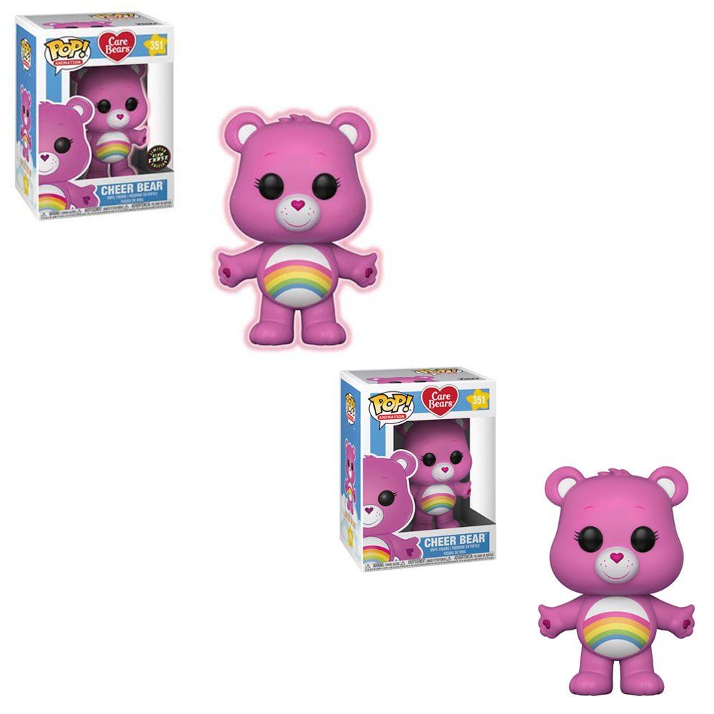 Funko POP Styles May Vary Collectible Figure Multicolor 26698 Accessory Toys /& Games Animation: Care Bears Cheer Bear