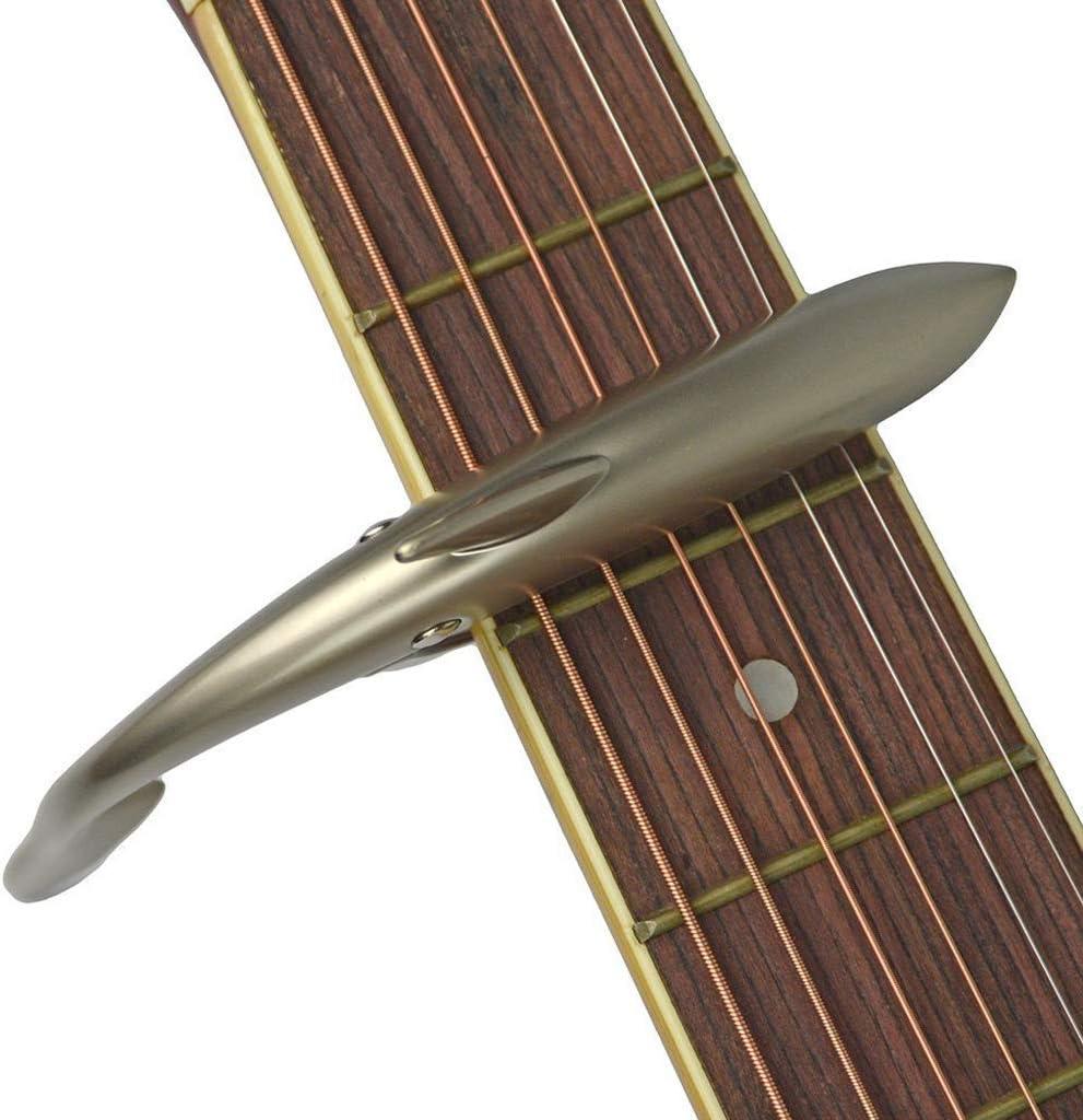 TINGYIN Cejilla Guitarra Shark Guitar Instrumento de afinación ...