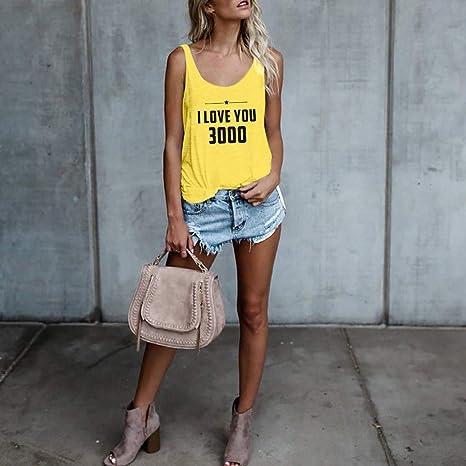 JYJM - Camiseta de Manga Corta para Mujer, con tacón y ...