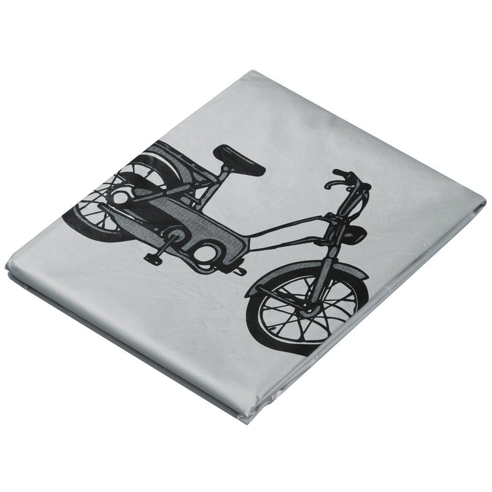 TRIXES Cubierta Gris Resistente a la Iintemperie para Bicicleta Bici Motocicleta