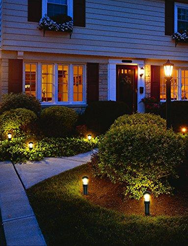 Malibu Aged Iron Collection LED Bollard Pathway Light LED Low Voltage Landsca