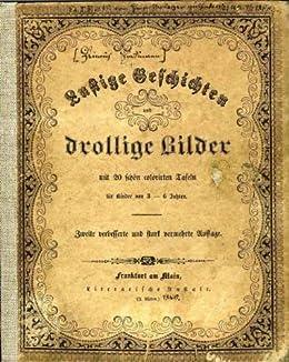 RARE Old 19th Century DER STRUWWELPETER German Version Heinrich Hoffmann