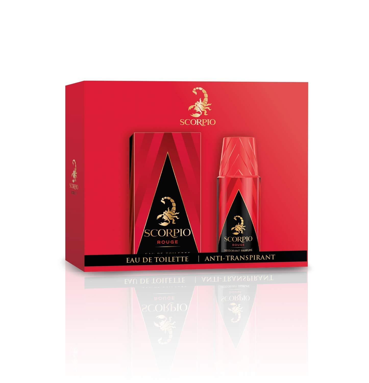 SCORPIO Coffret 2 produits Rouge - Eau de toilette flacon 75ml et Déodorant  atomiseur 150ml product 48e35651e65