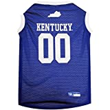 "Kentucky Wildcats Mesh Dog Basketball Pet Jersey (Small 8"" to 12"")"