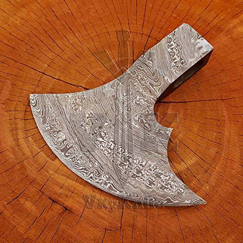 Handmade Damascus Steel AXE Hatchet Head only JNR9018 by JNR TRADERS