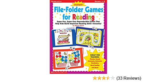 Amazon instant file folder games for reading super fun super amazon instant file folder games for reading super fun super easy reproducible games that help kids build important reading skillsindependently fandeluxe Gallery