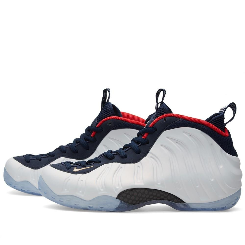 official photos 7b5c1 90a7c Nike 575420-400 Men AIR Foamposite ONE PRM Obsidian/White University RED