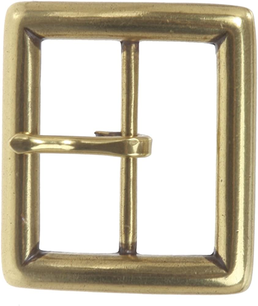 """1-3//4/"""" - 45 mm SOLID BRASS SINGLE ROLLER BELT BUCKLE Leather craft STRONG"""