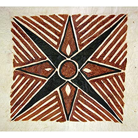 Siam Circus Samoan Siapo Bark Cloth Art Samoa Amazon Co Uk