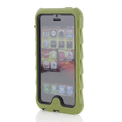 Apple IPhone 5 IPhone 5s Drop Tech Green Gumdrop Cases Silicone Rugged  Shock Absorbing Protective Dual