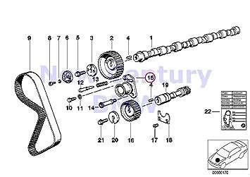 amazon com genuine bmw e12 e21 e28 e30 e34 z1 timing belt tensioner cam timing chart genuine bmw e12 e21 e28 e30 e34 z1 timing belt tensioner oem 11311711154