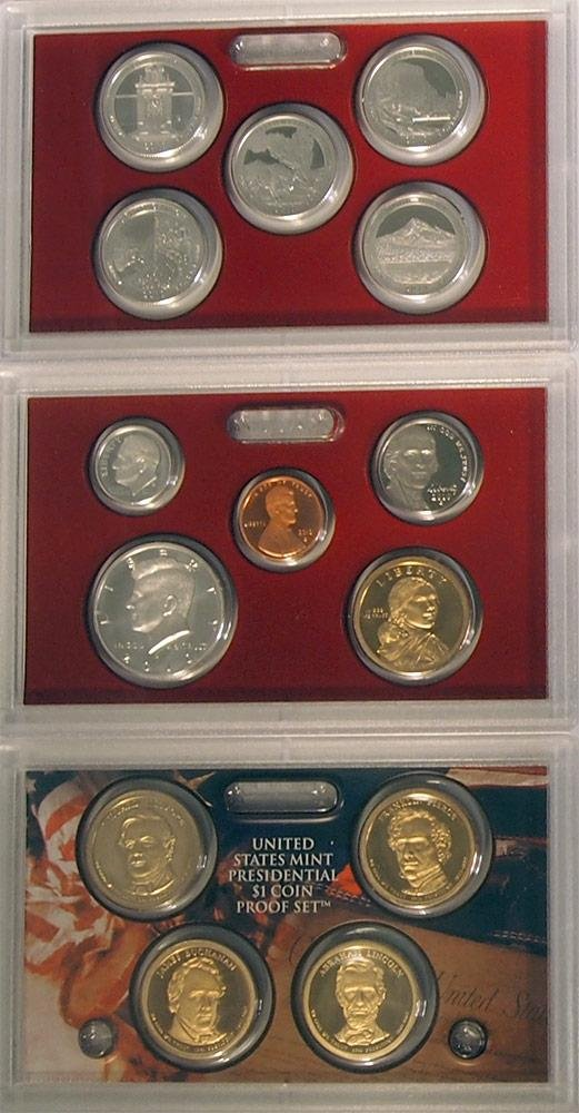 2010 S Silver Proof Set in Original US Government Packaging