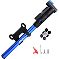 Raniaco 120PSI Portable Bicycle Frame Mini Bike Pump With Gauge