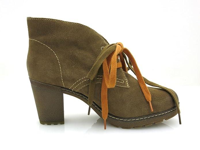Tamaris à Lacets Lederboot Daim Chaussures en Cuir 1 25207