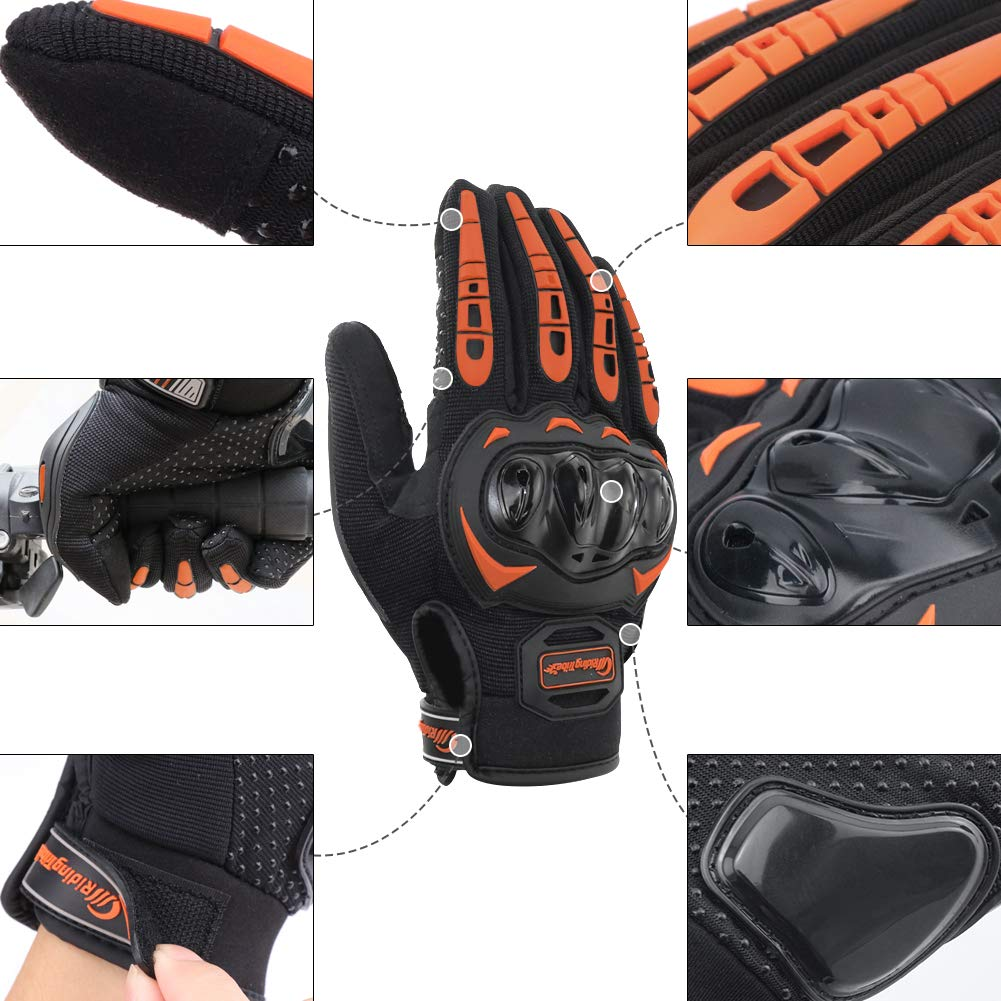 M//L//XL Senderismo y Otros Deportes al Aire Libre Guantes de Pantalla T/áctil Full Touch para Carreras de Motos Escalada MTB COFIT Guantes de Motos