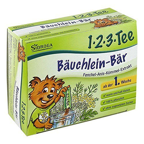 Sidroga 1-2-3-Tee Bäuchlein-Bär, 12 St