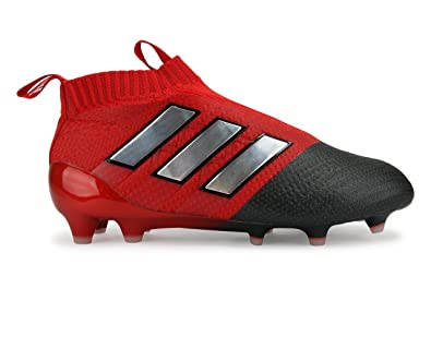 low priced c33cf 98f54 adidas Kids ACE 17.1 FG Red/White/Core Black Soccer Shoes
