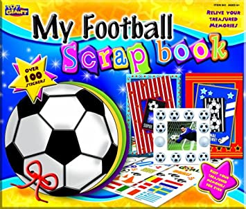 tarema my football scrapbook amazon co uk toys games