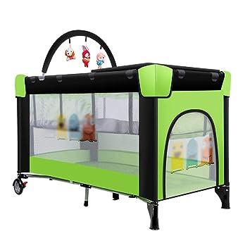 Amazon Com Multifunctional Portable Crib Double Layer Baby Toddler