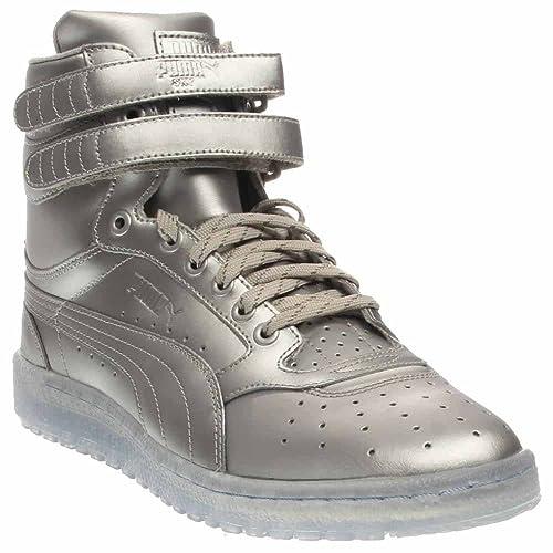 Sky High II Platinum Mens in Puma Silver Grey Violet by Puma 99ffa3a34