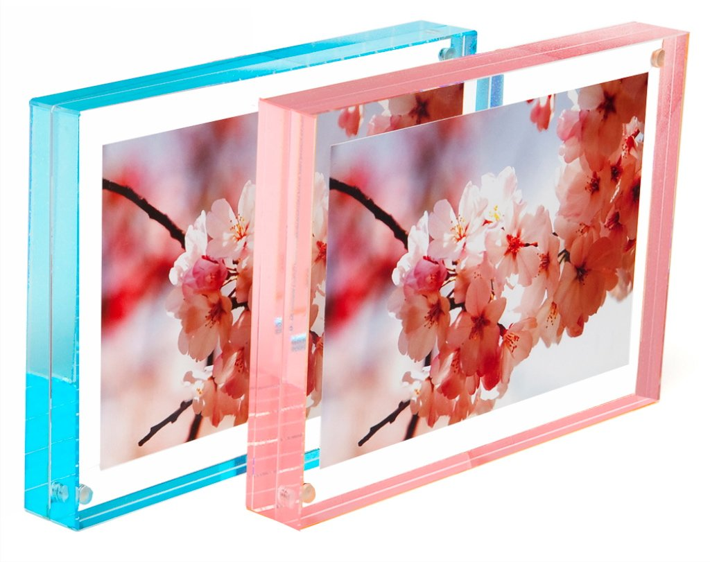 Canetti Color Edge Magnet Frame Pastel Rose 4 x 6 inches