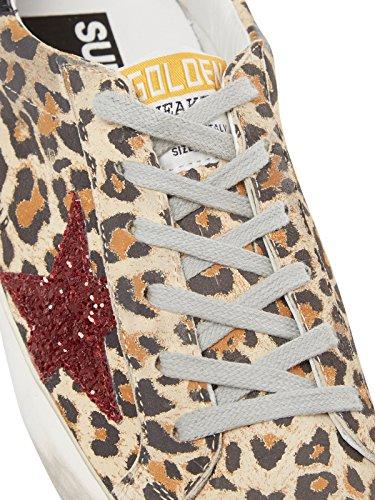 Golden Goose Sko Damer Sneaker Leo-mønster G31ws590.c64 Brune Brune Kvinder 7OdN08Zn96