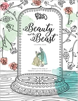 beauty and the beast coloring book alvaro madero mabel ramirez 9781542363051 amazoncom books - Beauty And The Beast Coloring Book