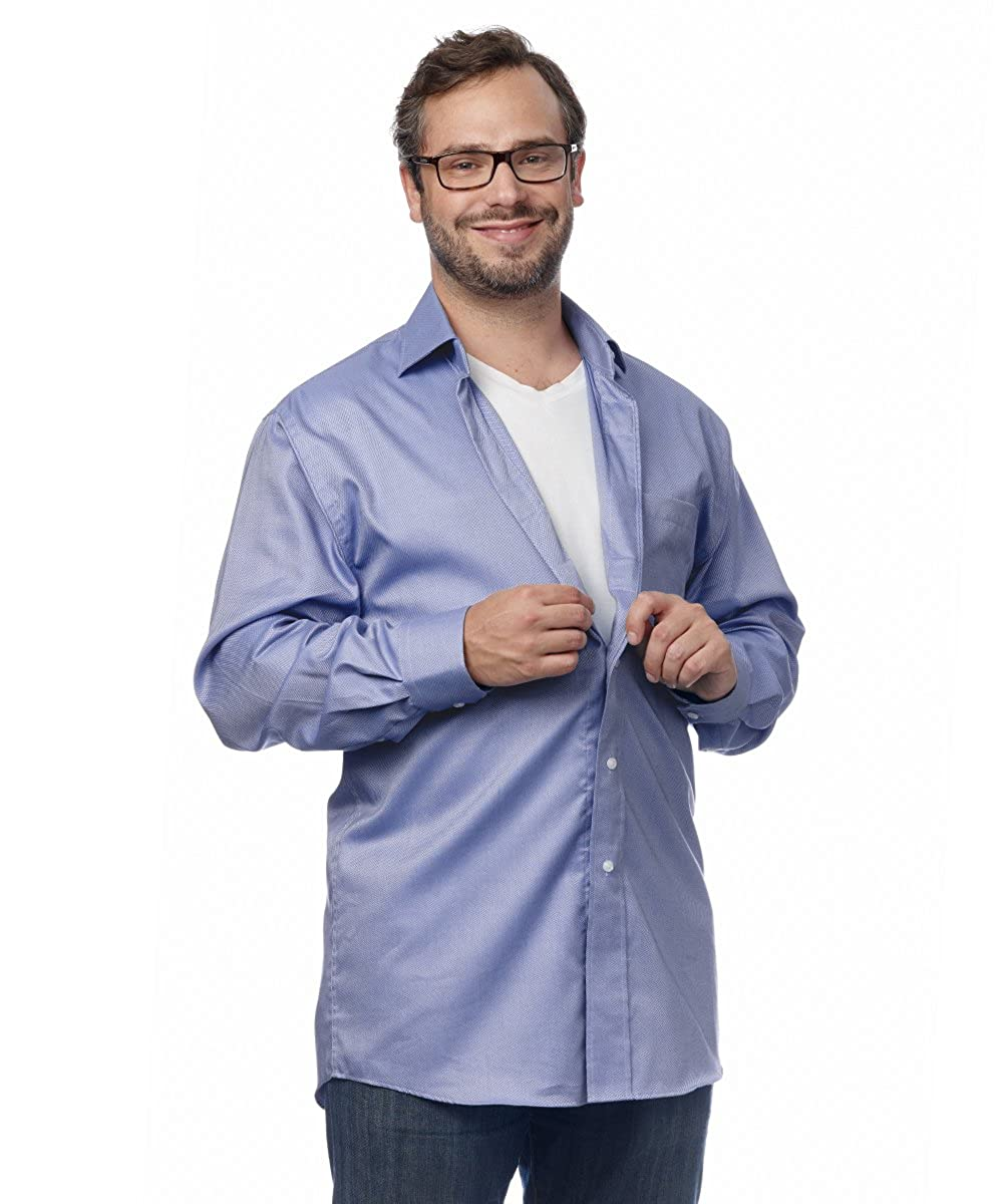 Amazon Silverts Magnetic Buttons Adaptive Dress Shirt For Men