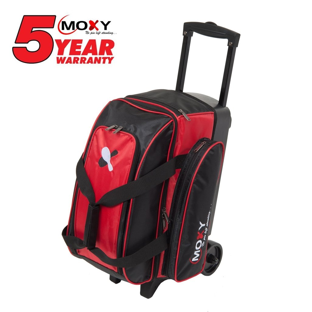 Moxy Double Roller Bowling Bag Moxy Bowling Products
