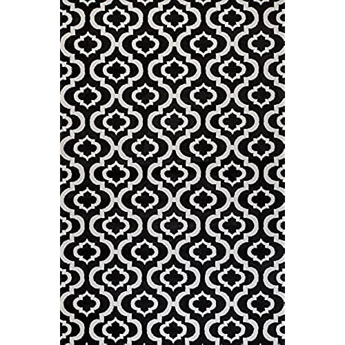 Best Black and White Carpets: Amazon.com ZH01