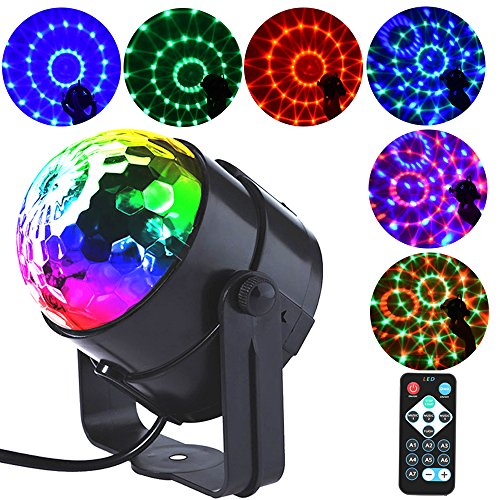 Rgb Crystal Flash Led Light Bulb