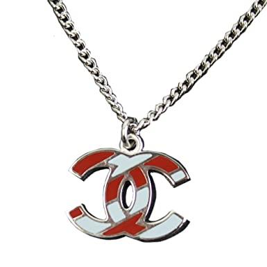 finest selection 9758b 981bc Amazon.com: 2016' SS Airlines Chanel Womens Cc Logos Pendant ...