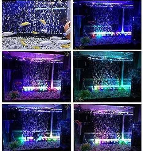 Amazon Com Amzdeal Waterproof Aquarium Led Light Rgb16