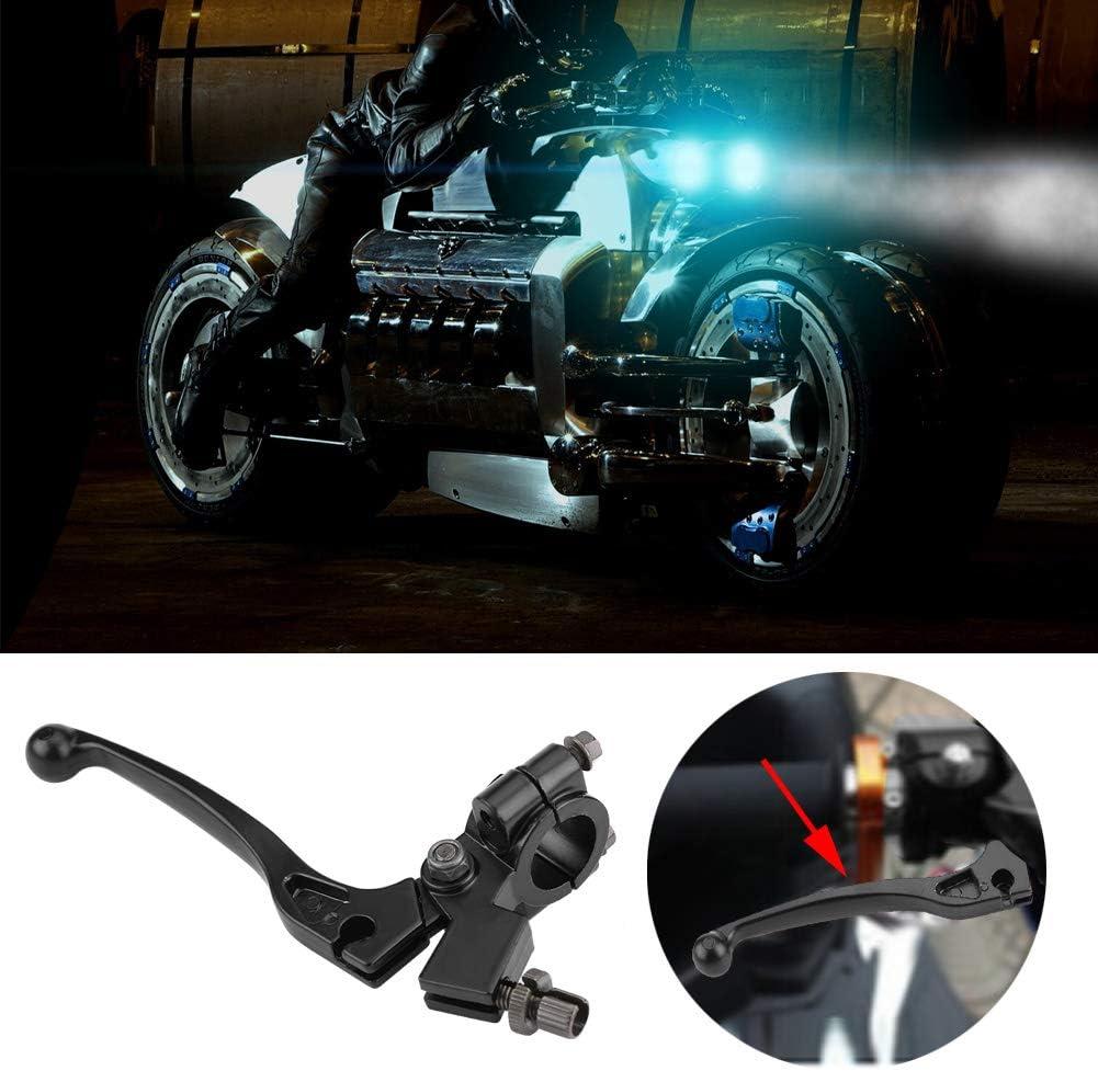 Leva frizione pieghevole manubrio 22mm 7//8in ad alte prestazioni con posatoio per bici da 50cc 125CC Dirt Pit Bike Leva della frizione
