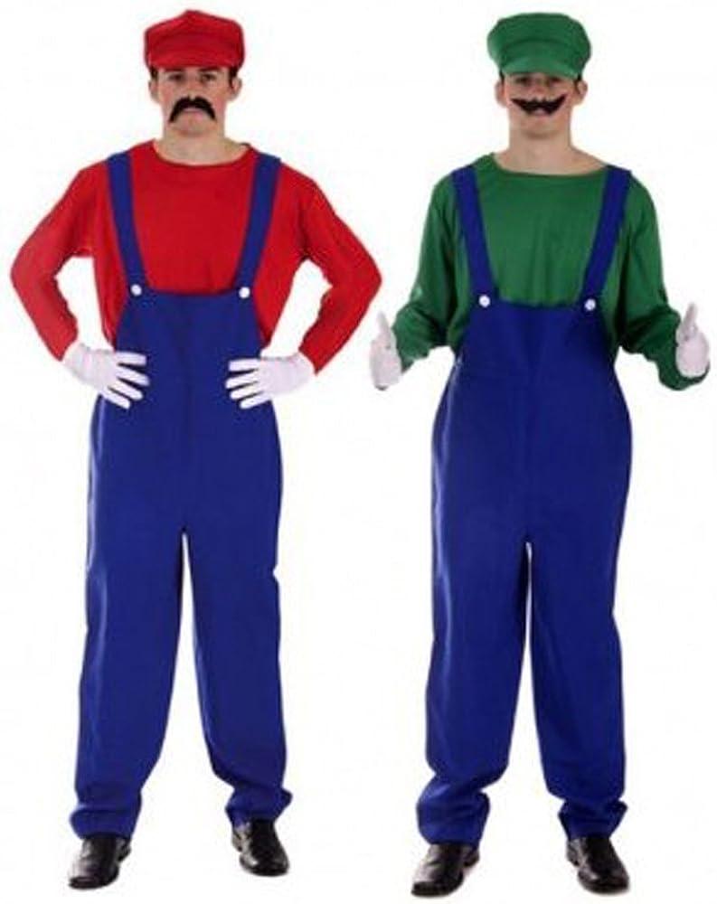 Para hombre para mayores de Super Mario Bros Luigi resistente a ...