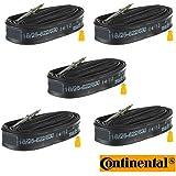 5x Continental Race 700 x 20-25c Tubes 42mm Long Valve Presta