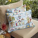 Mozaic AMPS112504 Lumbar Pillow, 12'' H x 18'' W, Multicolor