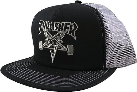 Black-White Cash Trucker Hat Toxico Clothing