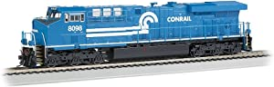 Bachmann GE ES44AC DCC Sound Value Equipped Diesel Locomotive - CONRAIL #8098 (with operating ditch lights)- HO Scale