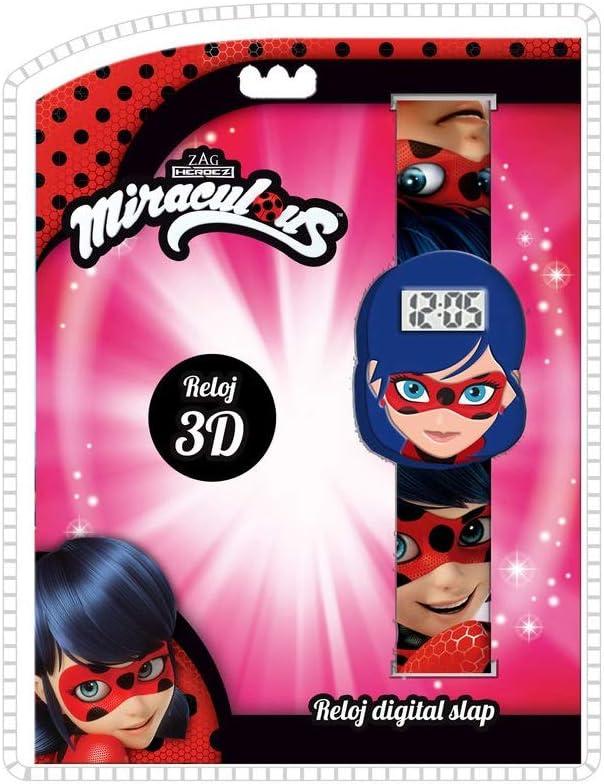 LADY BUG Reloj de Pulsera Digital Slap 3D de Ladybug (LB17121) 1: Amazon.es: Juguetes y juegos
