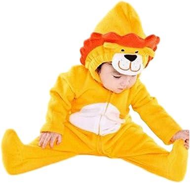 Prettycos Disfraz de Leon para Bebe Pijama Animal Cosplay Carnaval ...