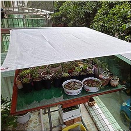 CF-sombra Blanco Toldo de Color Toldos para el Jardín Toldos para Exteriores Protección Solar Toldo de Tela de Bloque UV 2x3m para Patio Jardín Casa de Vidrio Suculentas Toldo de Sol: Amazon.es: