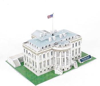 CubicFun C060h US The White House 3D Puzzle (65 Pieces)