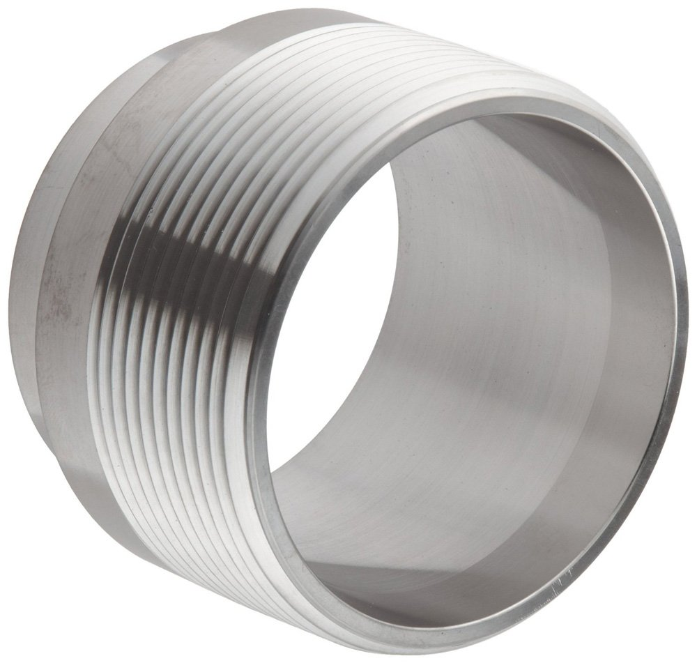 Steel and Obrien DAG04000i-316 Stainless Steel 19WB Adapter 4 4