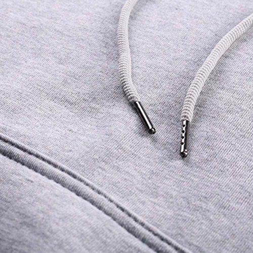 Femme Sweat-shirt drôle Licorne Tshirt chandail manches longues à capuche laine Pull à capuche chaud Chemise Jumper chemisier chemise d'extérieur noir gris S M L XL XXL XXXL Hibote