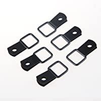 MINGLI 6PCS Tie-Down D-Rings for Jeep Wrangler JKU Unlimited 2007-2017 Cargo Privacy Protected Trunk Cover D-Rings