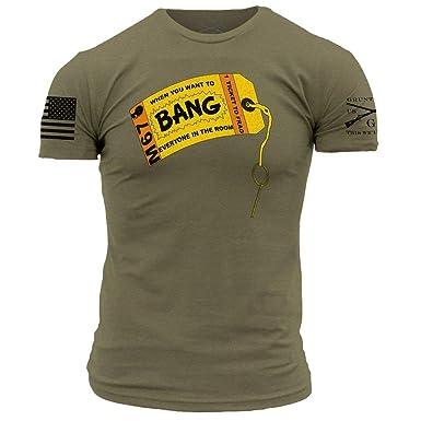 6aa0729467a95 Grunt Style Bang! Men's T-Shirt