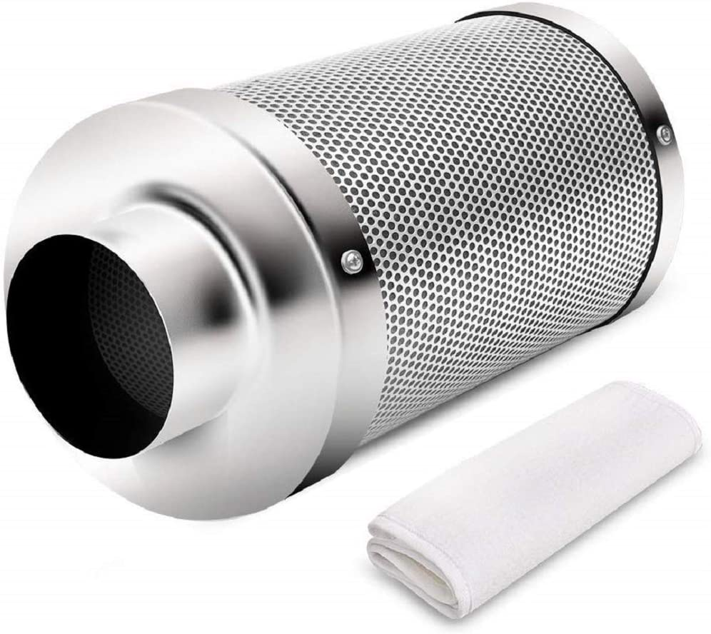 iPower 8 Inch Air Carbon Filter Odor Control Scrubber